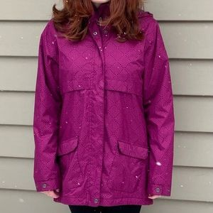 Waterproof Lined Columbia Jacket